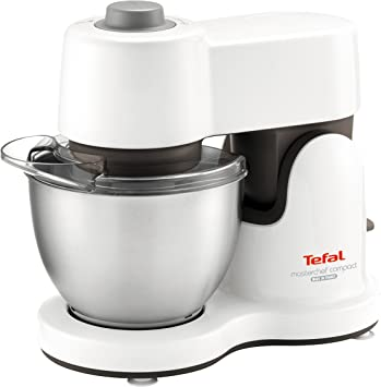 Tefal qb200138 Robot de cocina, Masterchef Compact 700 W: Amazon ...