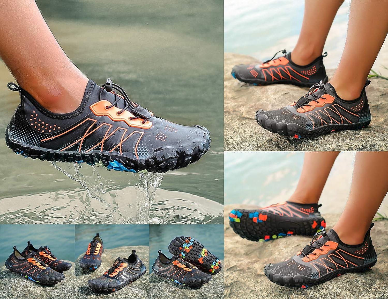 SINOES Sommer Aqua Schuhe Barfu/ß Weich Wassersport Yoga Schuhe Strandschuhe Schwimmschuhe Surfschuhe f/ür Damen Herren