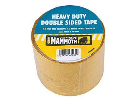 Everbuild EVB2HDDST50 50 Mm X 5 M Heavy Duty Double Sided Tape