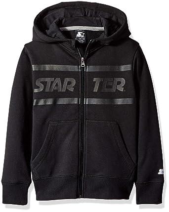 bf5d7ad4e Amazon.com  Starter Boys  Zip-Up Logo Hoodie