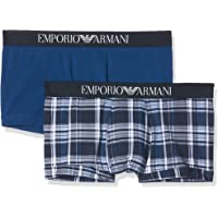 Emporio Armani Mens Pattern Mix 2-Pack Trunk Trunks