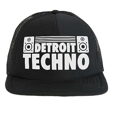Sombrero Techno Detroit Dj, Trucker cap negro, música electrónica ...