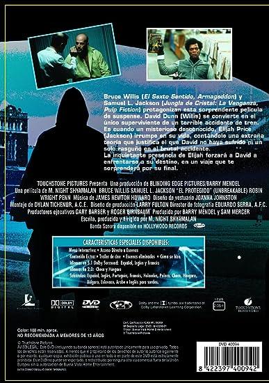 El Protegido Dvd Amazones Bruce Willis Robin Wright Penn