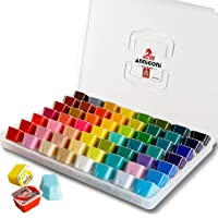 Jelly Gouache Paint Set, 56 Colors x 30ml Unique Jelly Cup Design in a Carrying Case Perfect for Artists, Students…