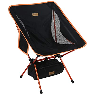 Trekology YIZI GO Portable Camping Chair - Compact Ultralight Folding Backpacking Chairs, Small Collapsible Foldable Packable Lightweight Backpack Chair in a Bag for Outdoor, Camp, Picnic, Hiking : Sports & Outdoors