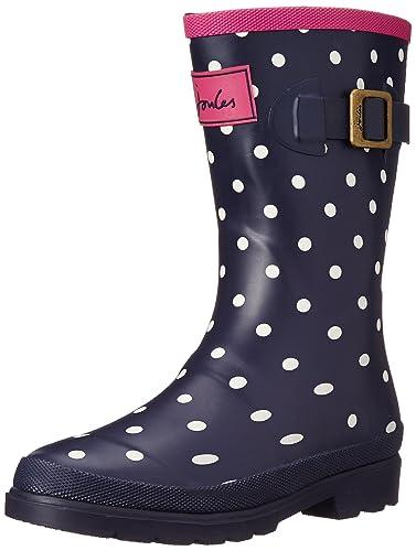 Joules Jnr Girls Welly Boot (Toddler/Little Kid/Big Kid), Navy