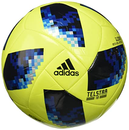 ffe79d785 Buy ADIDAS FIFA WORLD CUP GLIDER BALL (Solar Yellow / Solar Blue / Bright  Royal) Online at Low Prices in India - Amazon.in