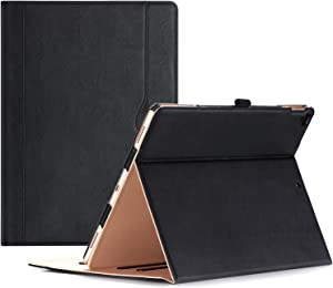 ProCase iPad Pro 12.9 2017/2015 Case (Old Model) - Stand Folio Case Cover for Apple iPad Pro 12.9 Inch (Both 2017 and 2015 Models), with Multiple Viewing Angles, Apple Pencil Holder -Black