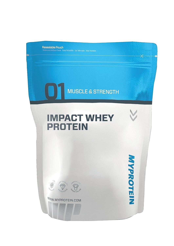 MyProtein Impact Whey Proteína de Suero, Sabor Chocolate Blanco - 2500 gr: Amazon.es: Salud y cuidado personal