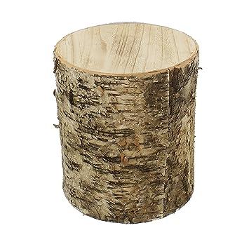 Amelex 67 Tronc De Bouleau Gm Deco Naturelle Rondelles De Bois De