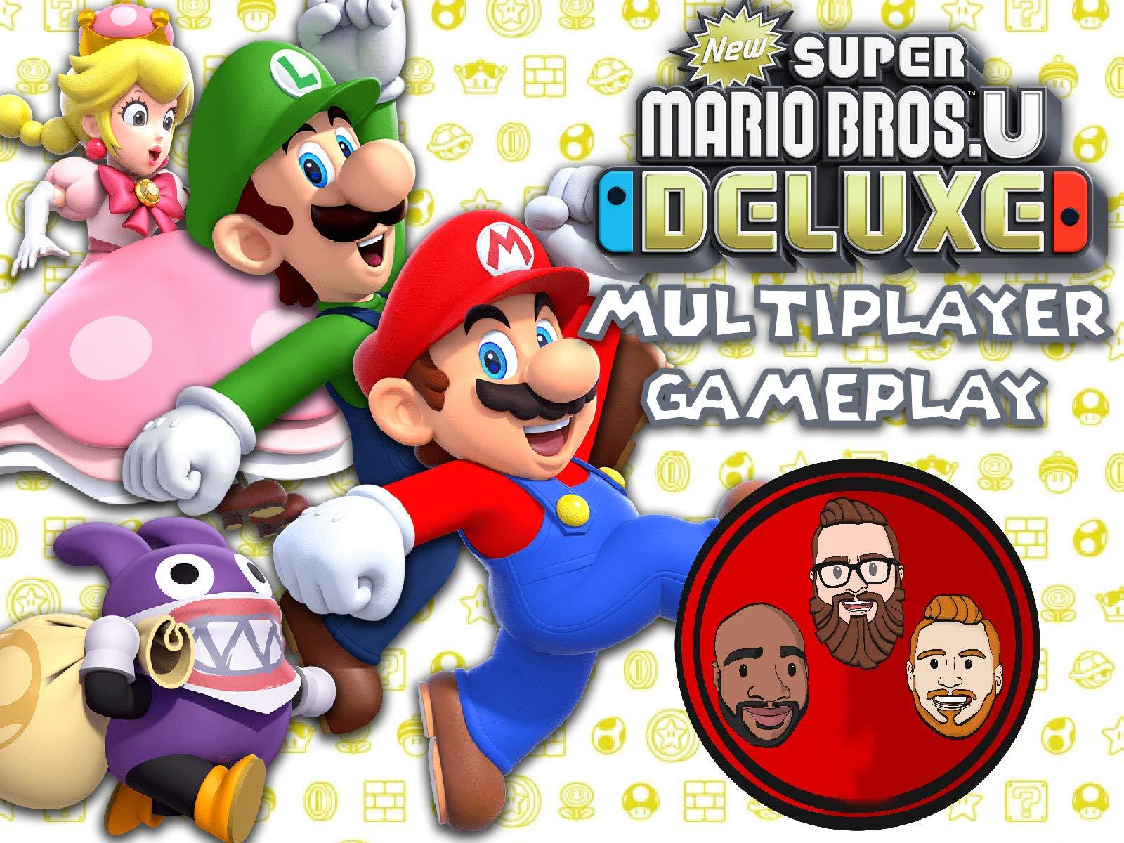 Watch New Super Mario Bros U Deluxe Multiplayer Gameplay Prime Video
