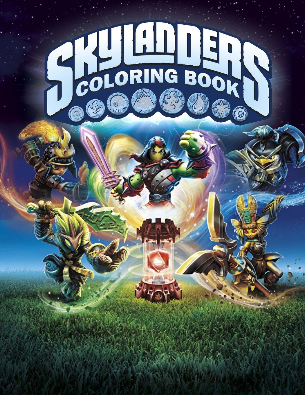 Skylanders Coloring Book: Great Activity Book for Kids ...