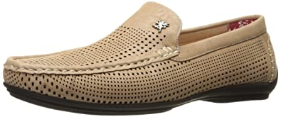 Best Buy Men's Stacy Adams Pippin Slip on Drivers Taupe