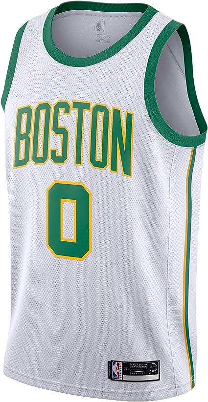 Jayson Tatum Boston Celtics #0 Mens//Youth Swingman Basketball Jersey Color Black