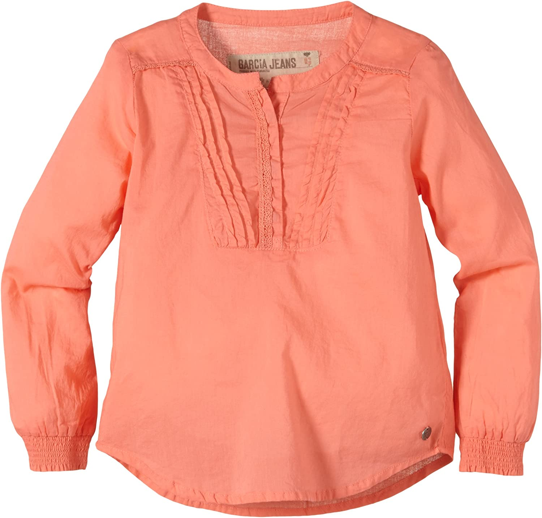 Garcia B54613, Blusa para Niñas, Orange (Peachy Coral 1539) 2 ...