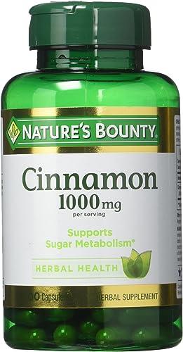 Nature s Bounty Cinnamon 1,000 mg Caps, 100 ct