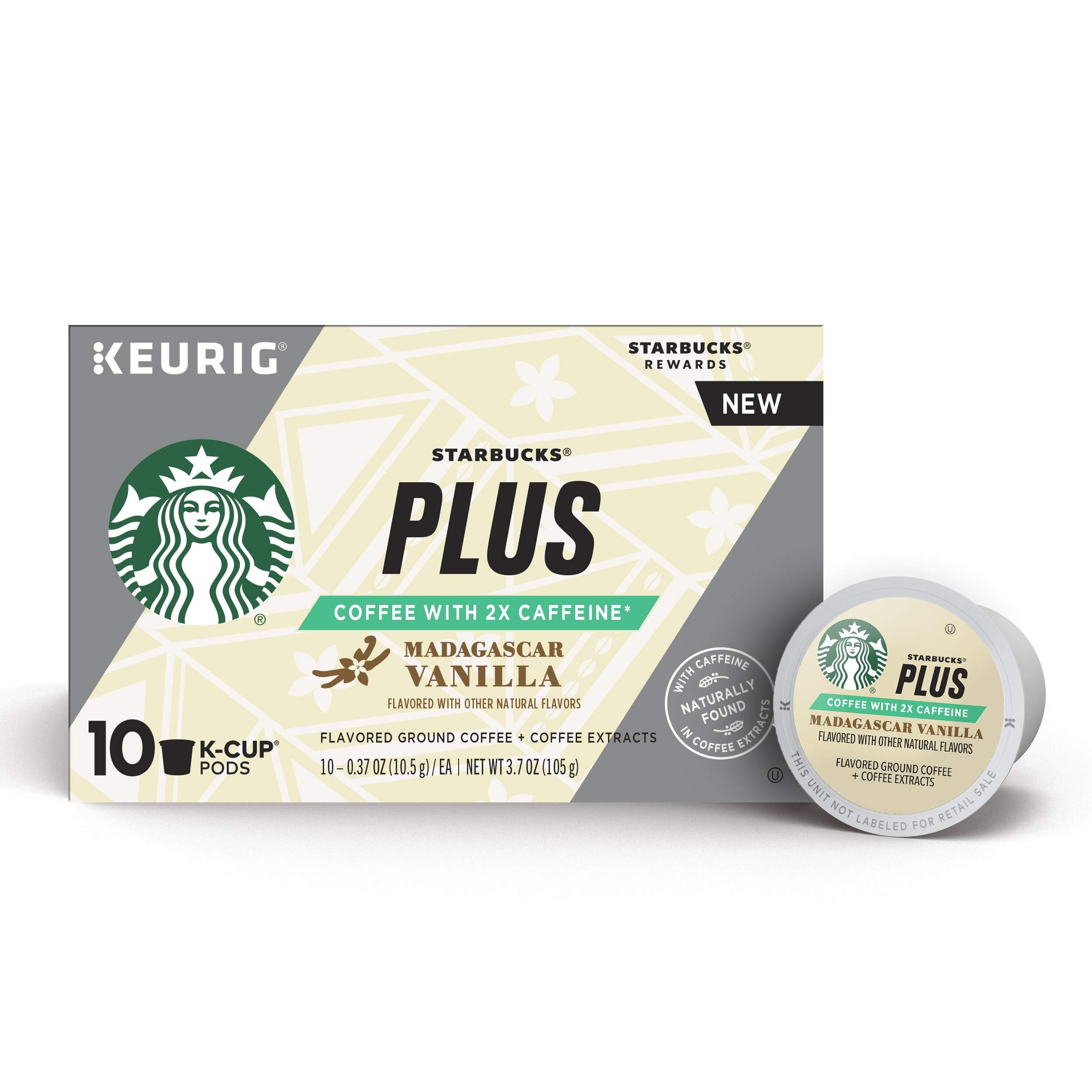 96152ae2e9d Starbucks Plus Madagascar Vanilla Single Cup Coffee for Keurig ...