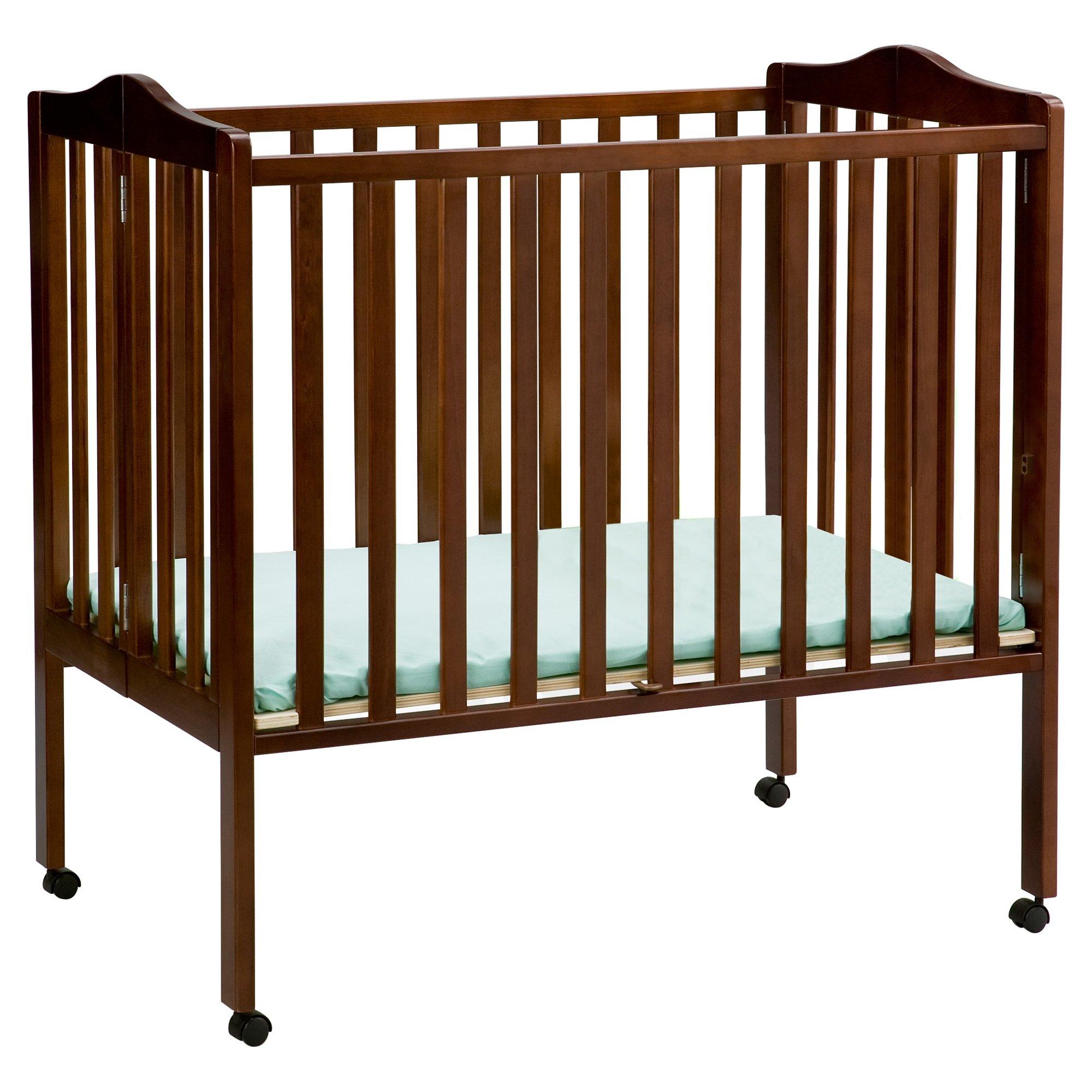 Delta Children Portable Mini Crib, Cherry by Delta Children