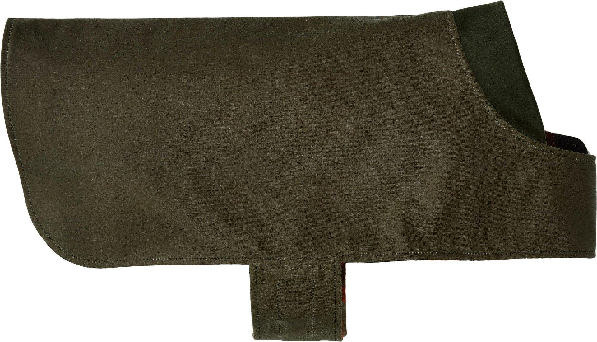 Shelter Dog Coat in Otter Green Size: Large (21'')