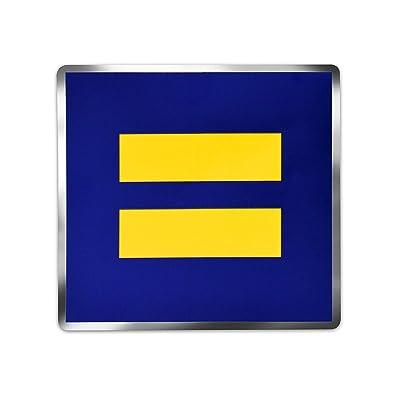 Rainbow Rides Equality Premium Decal: Automotive