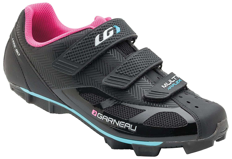 Louis Garneau Women's Women Multi Air Flex Shoes B01HHWOGXA 38|Black/Pink