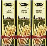Alessi Thin Breadsticks, 3 oz, 3 pk