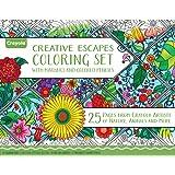 Crayola Adult Coloring Book & Marker Art Activity Set