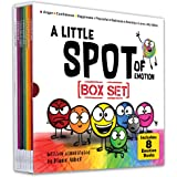 A Little SPOT of Emotion Box Set (8 Books: Anger, Anxiety, Peaceful, Happiness, Sadness, Confidence, Love, & Scribble Emotion