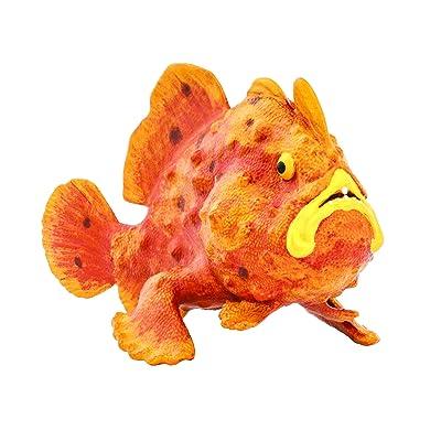 Safari 100070 Incredible Creatures Frogfish: Toys & Games
