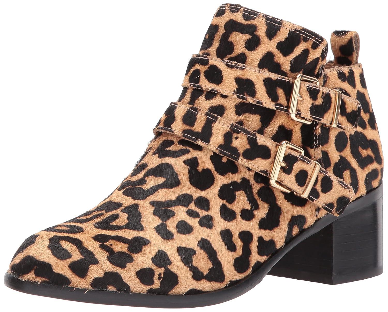 Franco Sarto Women's Raina Ankle Boot B0716J6NNF 7 W US|Leopard Camel