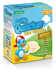 Little Quacker Banana Flavour Rice Biscuits, 40 g