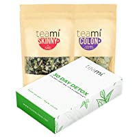 Teami® 30-Day Detox Tea Pack: All-Natural Teatox Kit with Teami Skinny & Teami Colon Cleanse Loose Leaf Herbal Teas