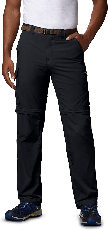 Breathable Columbia Mens Silver Ridge Convertible Pant UPF