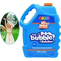 JOYIN 100 Oz Concentrated Bubble Solution (up to 8 Gallon) for Large Summer Party Celebrations, Party Favor, Bubble…