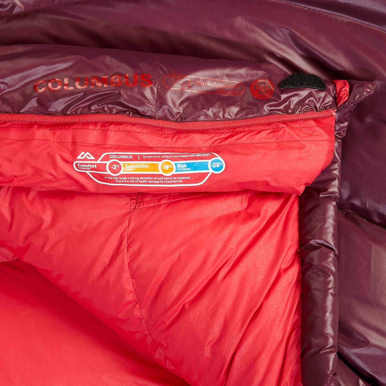 Kathmandu Columbus Mujer -9 - Saco de Dormir (wregl: Amazon.es: Deportes y aire libre