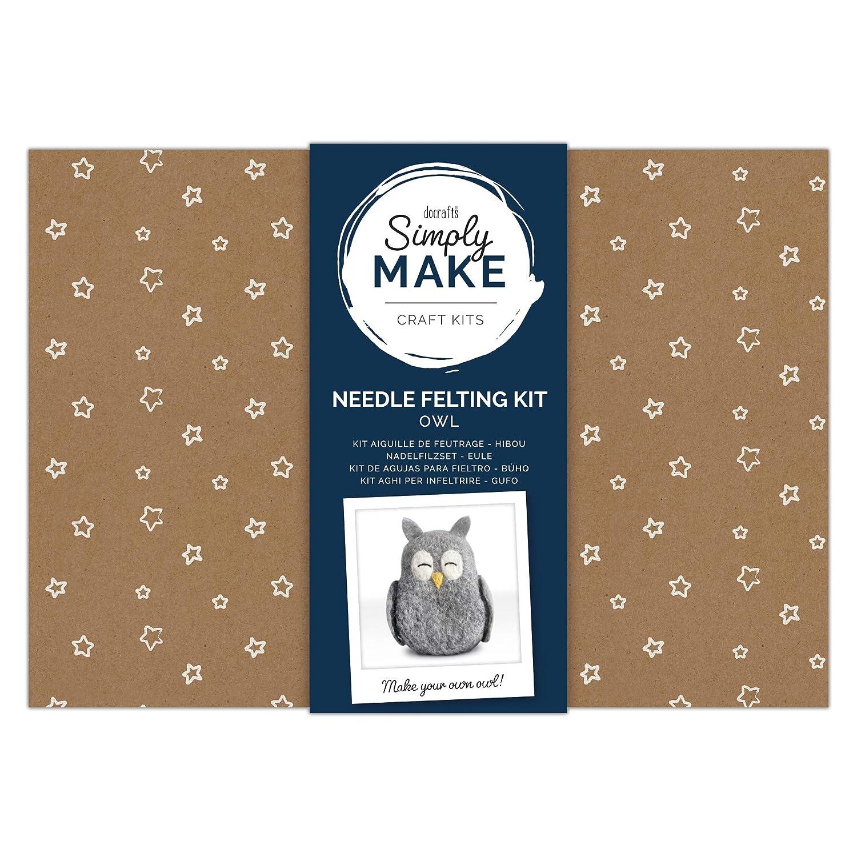 Owl Simply Make Needle Felting Kit