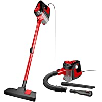 NEQUARE Vacuum Cleaner Corded 5 in 1 Stick Vacuum 600W 16KPa Suction with HEPA Filter for Pet Hairs Hard Floor, A17B