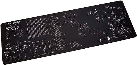amazon com tekmat ruger mini 14 cleaning mat 12 x 36 thicktekmat ruger mini 14 cleaning mat 12 x 36 thick, durable, waterproof