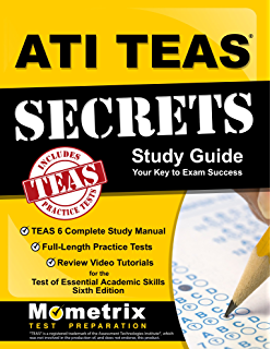 Amazon nursing school entrance exams general review for the ati teas secrets study guide teas 6 complete study manual full length practice fandeluxe Images