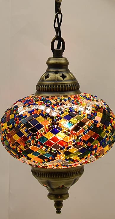 ceiling pendant fixtures mosaic lamps turkish lamps hanging