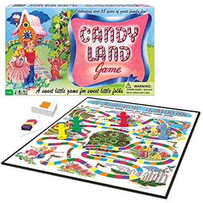 Candy Land 65th Anniversary Game: Toys & Games