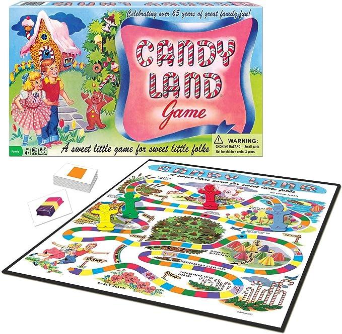 Winning Moves Games-WIN1189 Candy Land 65 Aniversario Juego, Multicolor, Ninguna (1189): Amazon.es: Juguetes y juegos