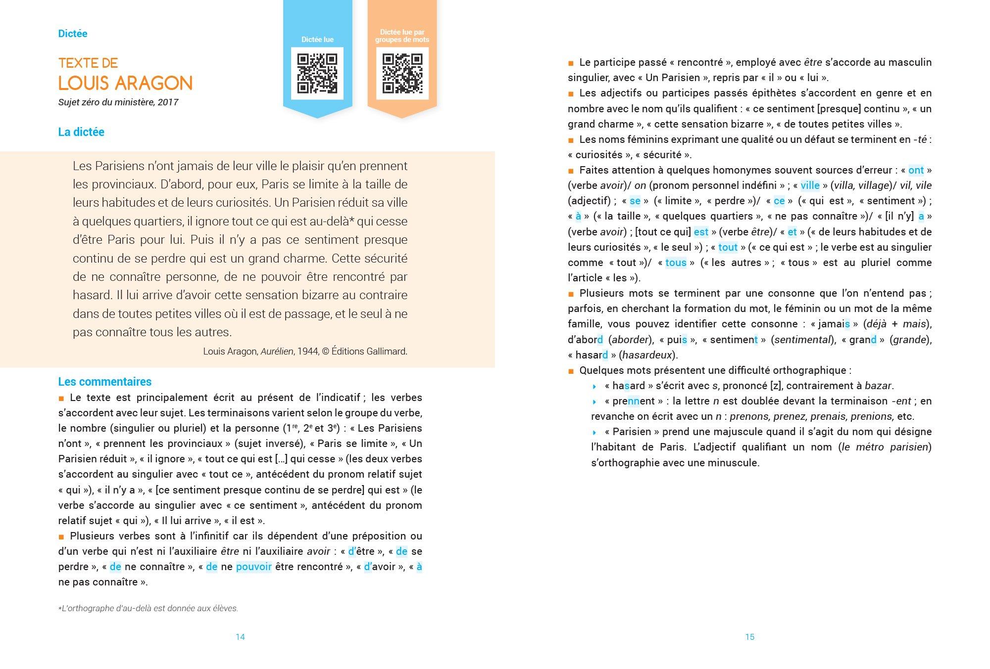 Cahier de dictées brevet (mon) 3e: Amazon.es: Philippe Lehu: Libros en idiomas extranjeros