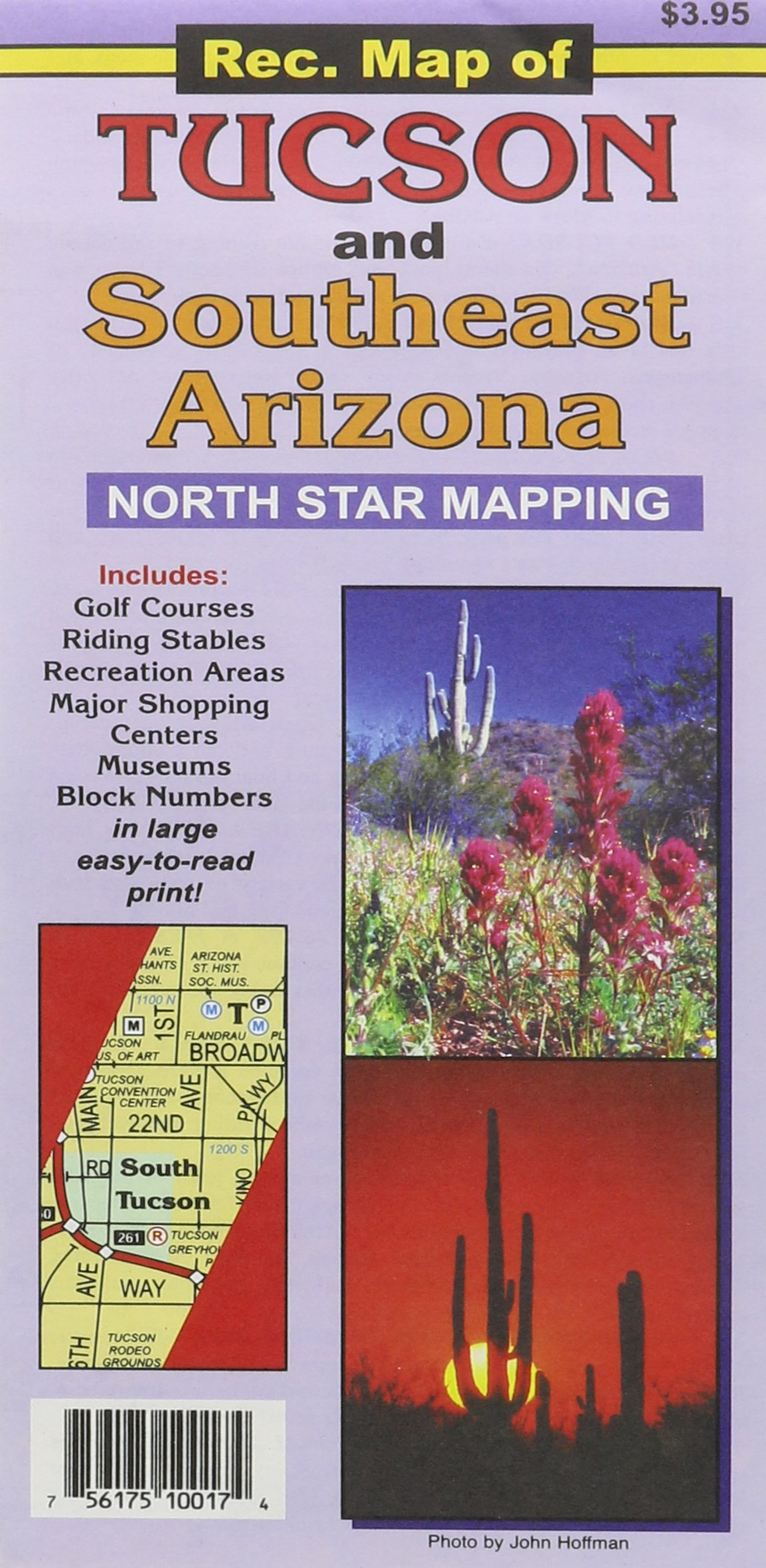 Map Of Southeast Arizona.Rec Map Of Tucson And Southeast Arizona North Star Mapping