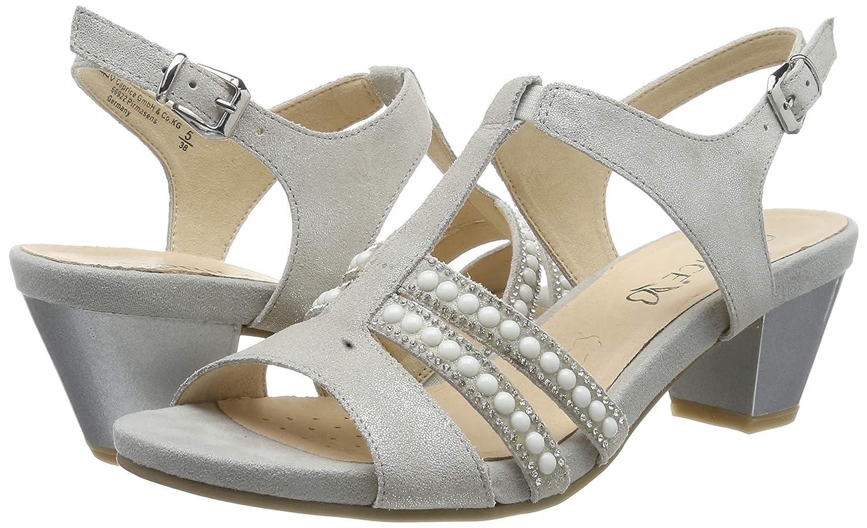 size 40 858d9 7dd76 CAPRICE Women's Irina Ankle Strap Sandals
