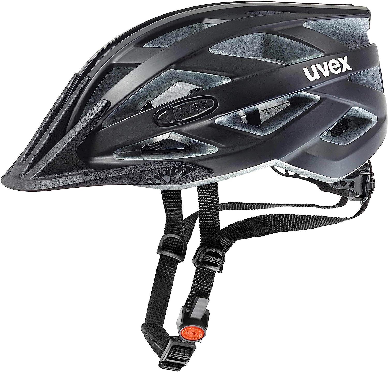 Top Radtour Produkte - Uvex Erwachsene I-VO CC Fahrradhelm, black mat, 56-60 cm