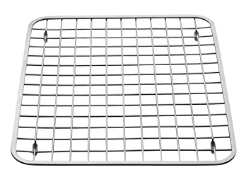 Superb InterDesign Gia Kitchen Sink Protector   Wire Grid Mat, Sink Strainer U2013  Regular, Polished