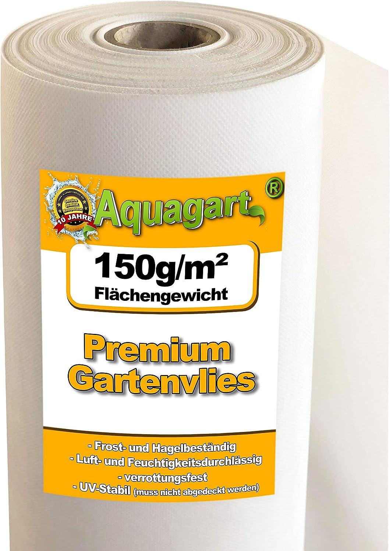 150 g//m/²-largeur 1 m 10 M/² de paillage unkrautfolie tapis tapis anti-mauvaises herbes