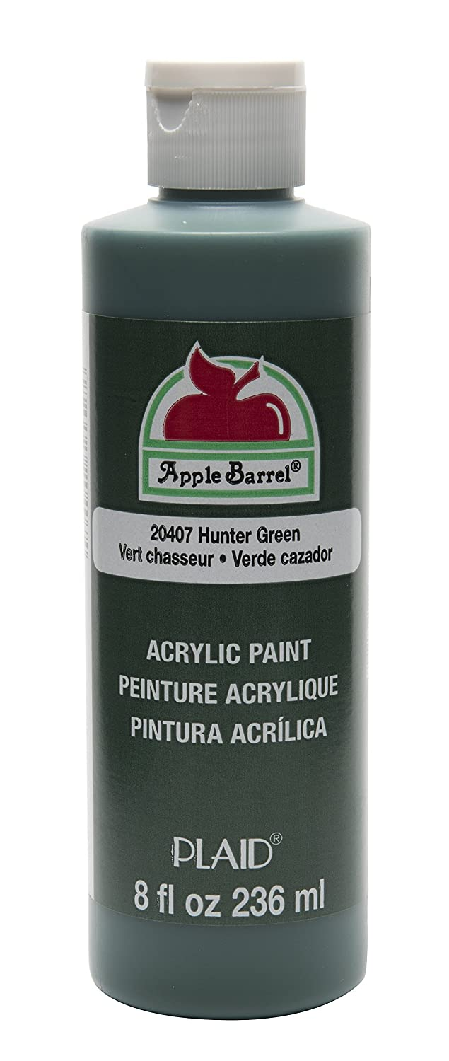Apple Barrel Acrylic Paint in Assorted Colors (8 Ounce), J20401 Bright Red Plaid Inc decoart crayola painting