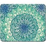 Creative Painting Customized Mandala Pattern Rectangle Mouse Pad